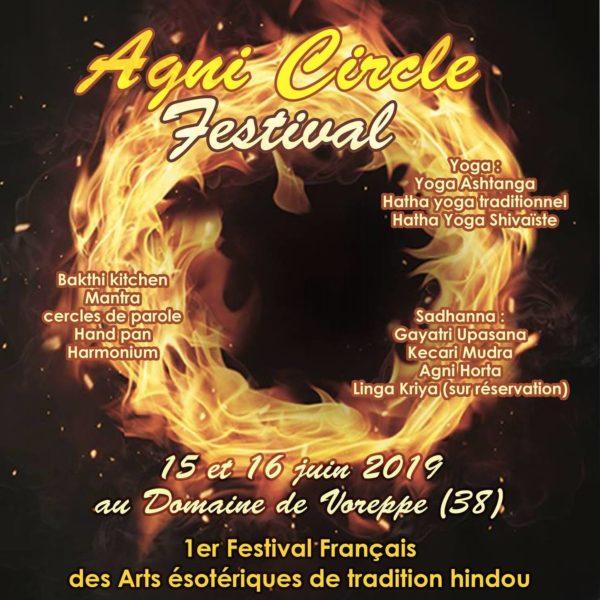 Agni Circle Festival 15 et 16 juin 2019