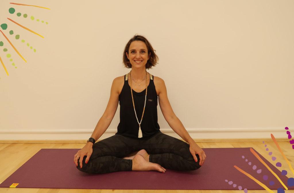 christelle hatha yoga Lyon